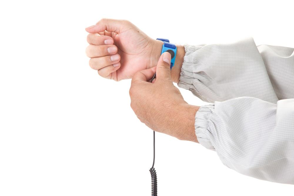 pulsera electrostatica para montar pc